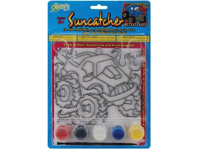 Suncatcher Activity Kits-Monster Truck