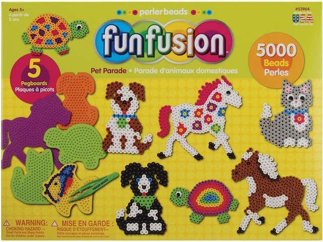 Perler Fuse Bead Value Activity Kit-Fun Fusion/Pet Parade