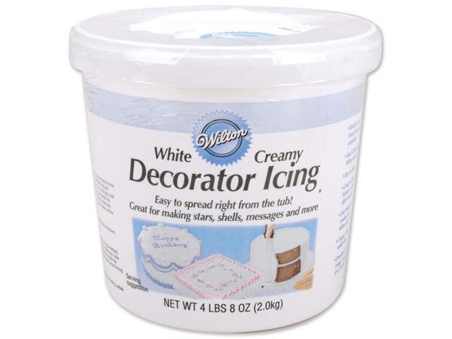 Decorator Icing 4.5 Pounds-Creamy White