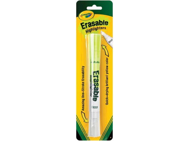 Crayola Erasable Highlighter-Yellow