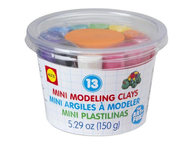 Mini Modeling Clay .4oz 13/Pkg-Assorted Colors