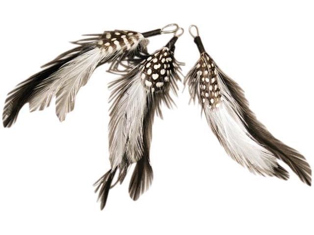 Natural Feather Picks 3/Pkg-5
