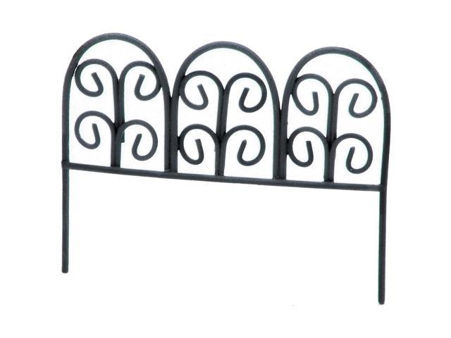 Timeless Miniatures-Metal Rustic Fence W/Pick