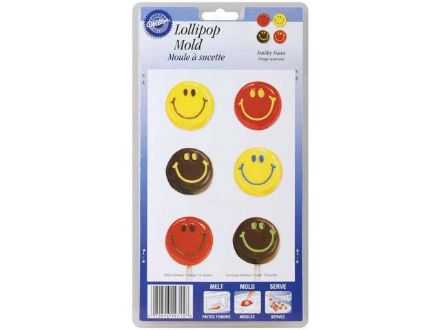 Lollipop Mold-Smiley Faces 10 Cavity
