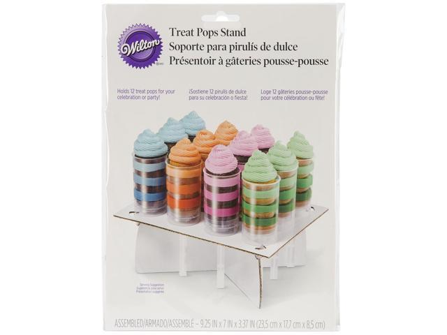 Treat Pops Stand-White 11.75