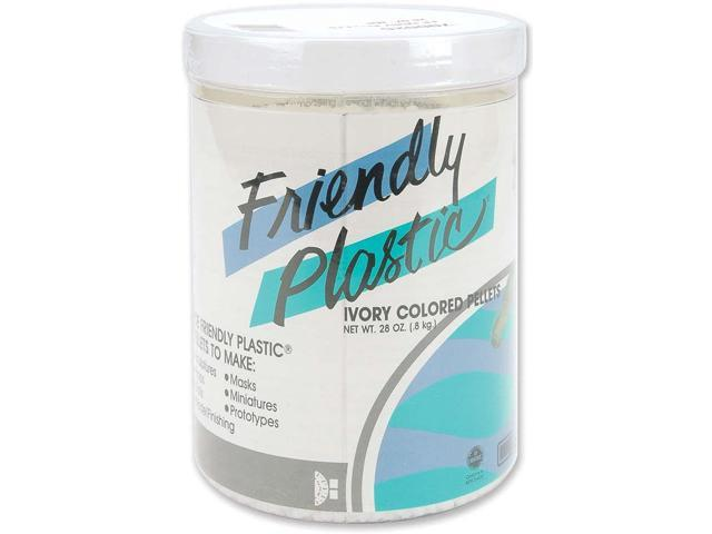 American Art Clay 70002C Friendly Plastic Pellets 28 Ounces