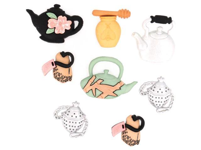 Dress It Up Embellishments-Time For Tea