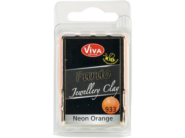 Pardo Jewelry Clay 56G-Neon Orange