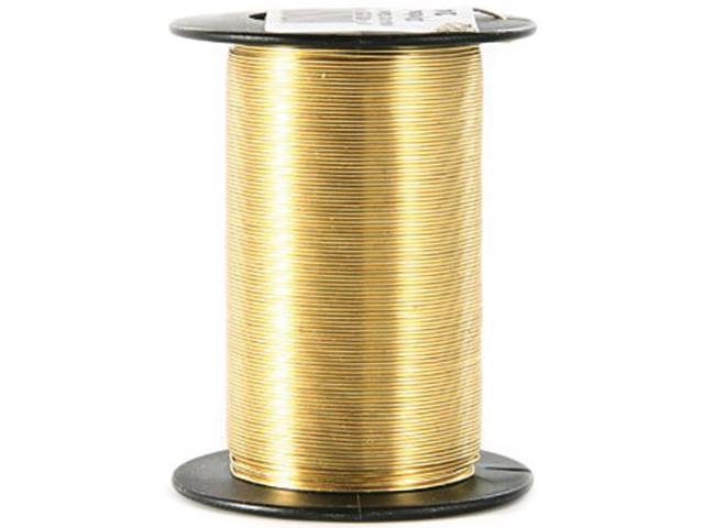 Craft Wire 24 Gauge 25yd-Gold