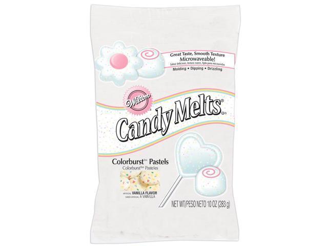 Colorburst Melts 10 Ounces-Pastel