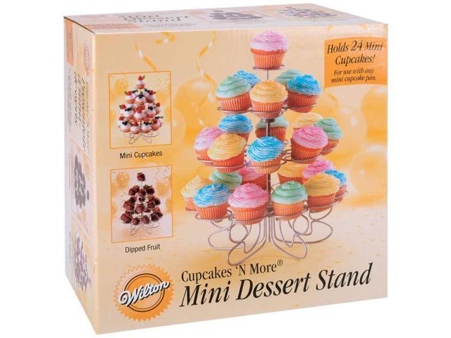 Cupcakes 'N More Mini Dessert Stand-Holds 24 Mini Cupcakes 10-1/2