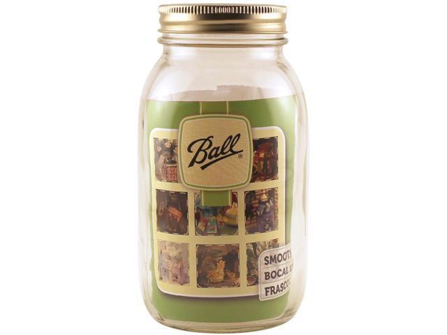 Ball Art Smooth Jar-Regular Mouth W/Lid-Quart