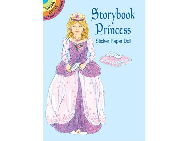 Dover Publications-Strybk Princess Sticker Paper Doll
