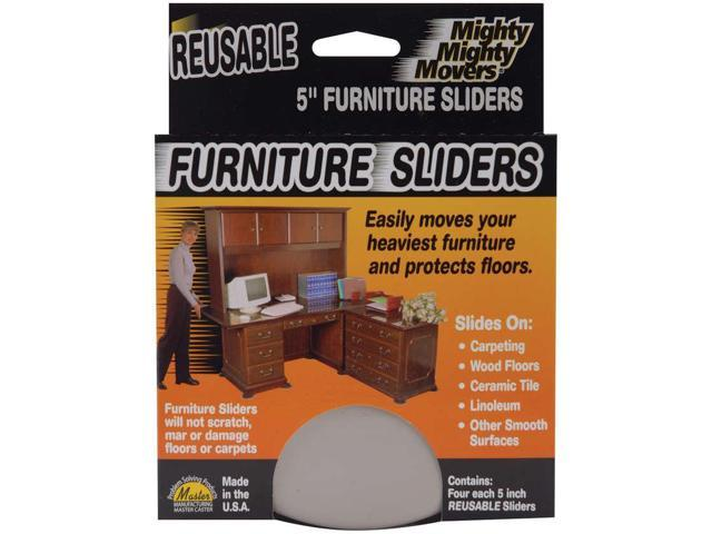 Mighty Mighty Movers Reusable Furniture Sliders Round 5