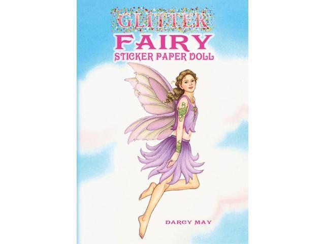 Dover Publications-Glitter Fairy Sticker Paper Doll