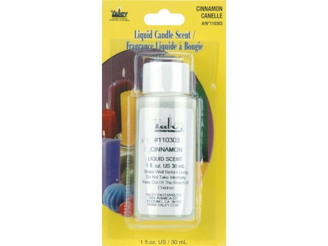 Liquid Candle Scent 1 Ounce Bottle-Cinnamon