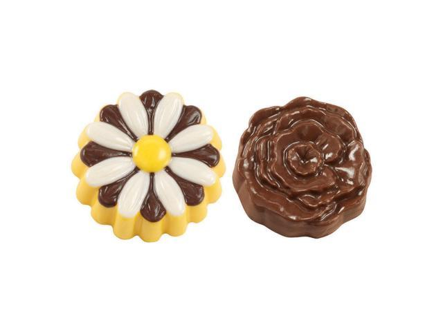 Cookie Candy Mold 6 Cavity-Daisy/Rose