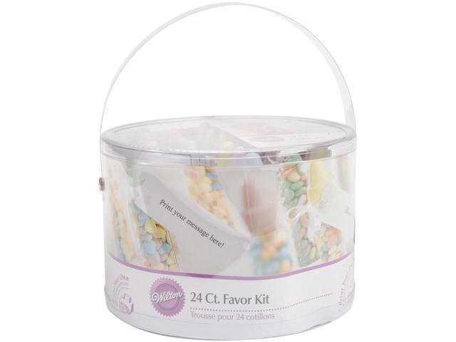 Baby Bottle Favor Kit 24/Pkg-Multi Pastel