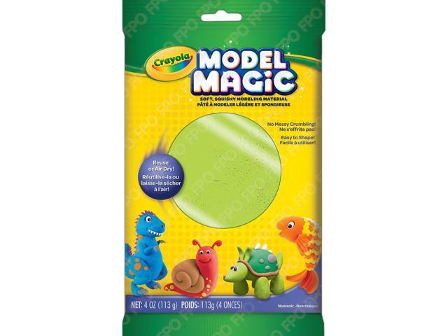 Modeling Clay Modeling Magic 4oz Neon Green
