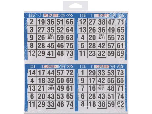 Primo Bingo Game Sheets 8