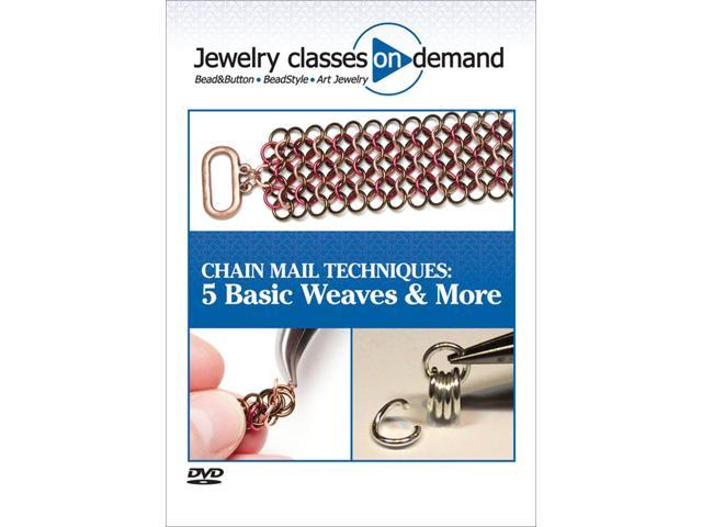 Kalmbach Publications CD Rom Books-Chain Mail Techniques: 5 Basic Weaves