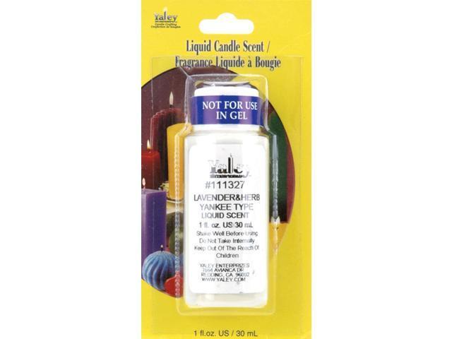 Liquid Candle Scent 1 Ounce Bottle-Lavender & Herb
