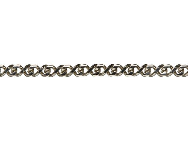 Jewelry Basics Metal Chain 1/Pkg-Silver Figure 8 16