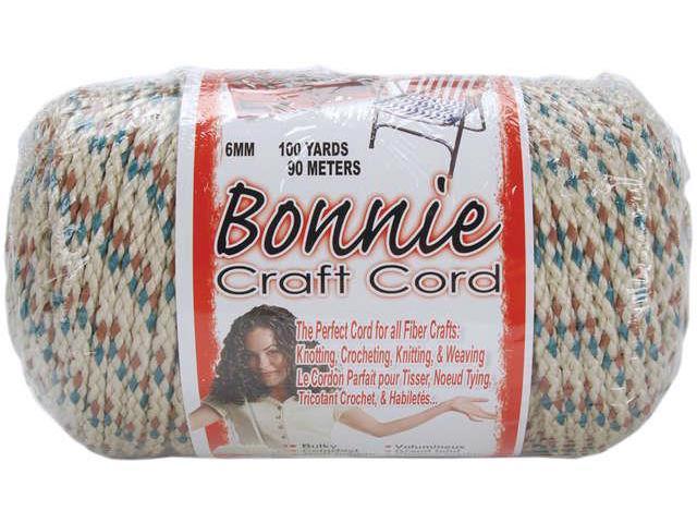 Bonnie Macrame Craft Cord 6mmX100yd-Sandlewood