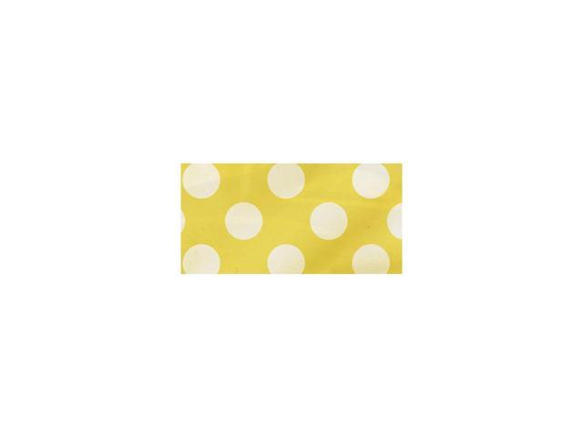 Flag Banner 12 Feet-Sunflower Yellow Decorative Dots