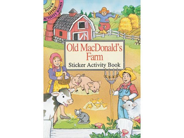 Dover Publications-Old Macdonald's Farm Stkr Actv Bk