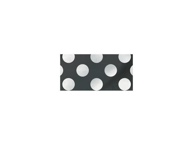 Flag Banner 12 Feet-Midnight Black Decorative Dots