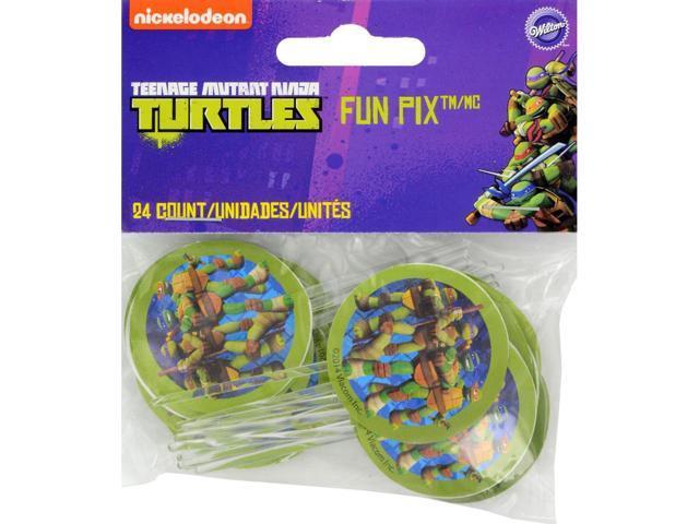Fun Pix-Teenage Mutant Ninja Turtles 24/Pkg