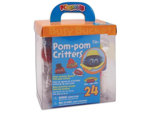 Foam Kit - Makes 24-Pom-Pom Critters