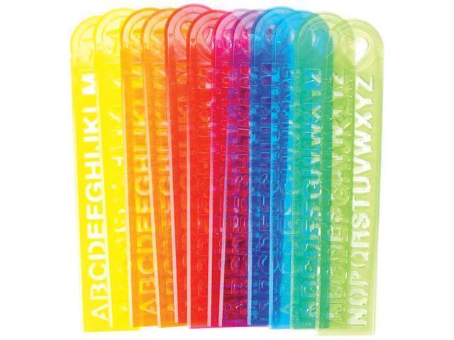 Party Favors 12/Pkg-Alphabet Rulers
