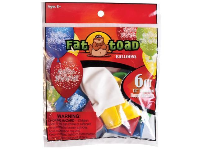 Fat Toad Decorator Balloons Round 12