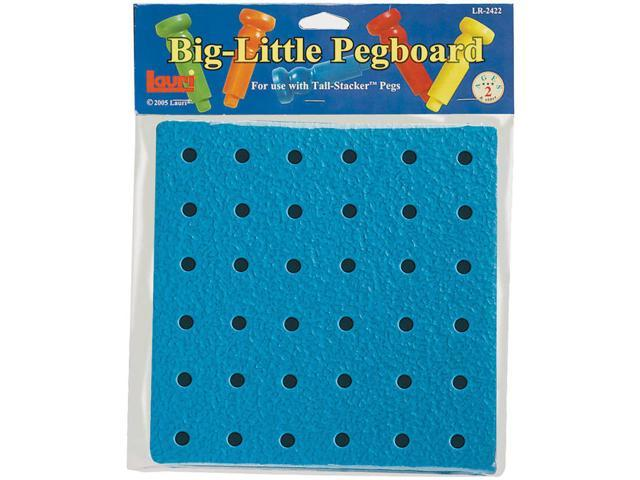 Lauri 2422 Big Little Pegboard- 8 in.- Pack of 6