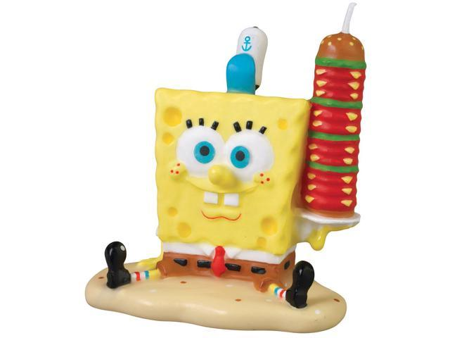 Wilton SPONGEBOB SQUAREPANTS CANDLE Birthday Party Cake