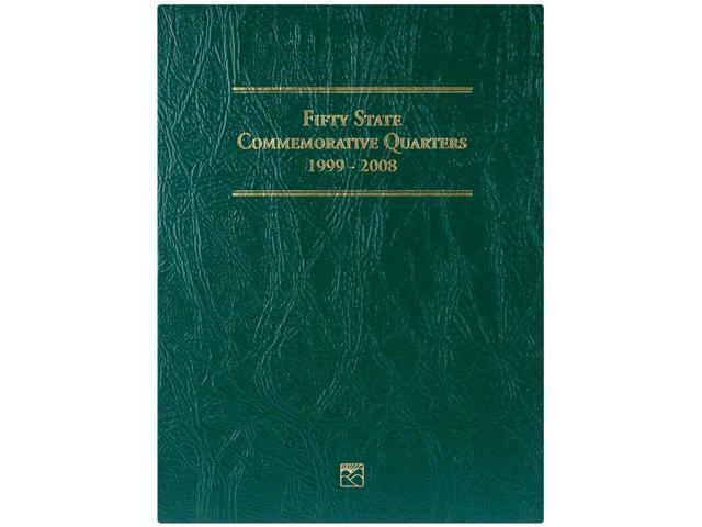 50 State Commemorative Quarter Folder-1999-2008
