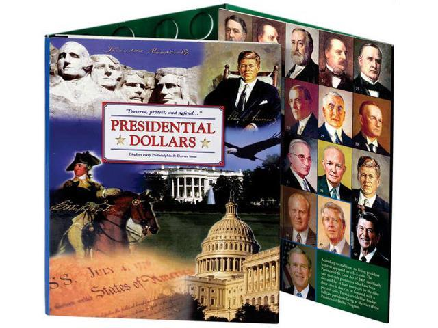 Presidential Dollar Color Folder-2007-2016