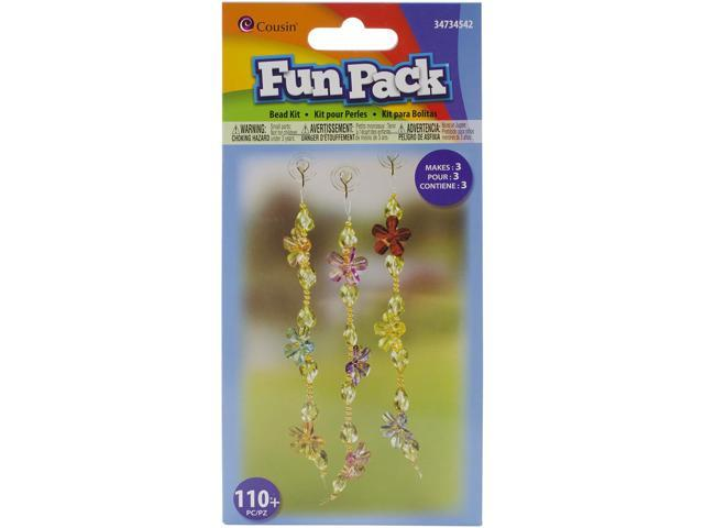 Fun Pack Bead Kit-Flower Strand Suncatcher