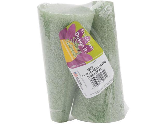Styrofoam Cones 2/Pkg-6