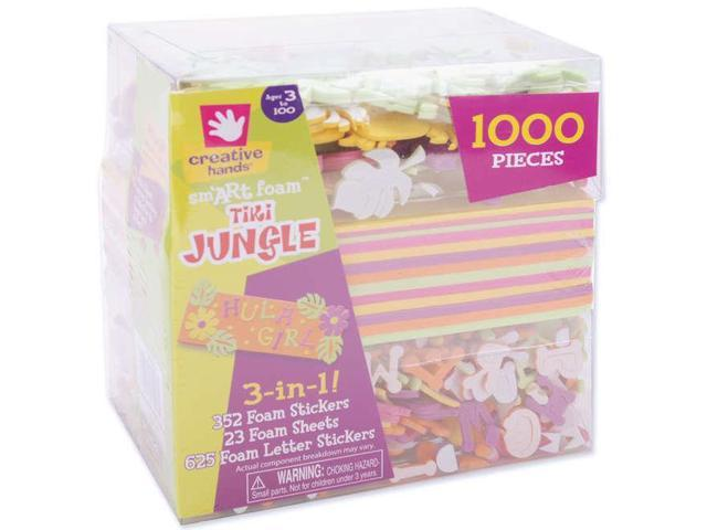 3-In-1! Foam Kit-Tiki Jungle