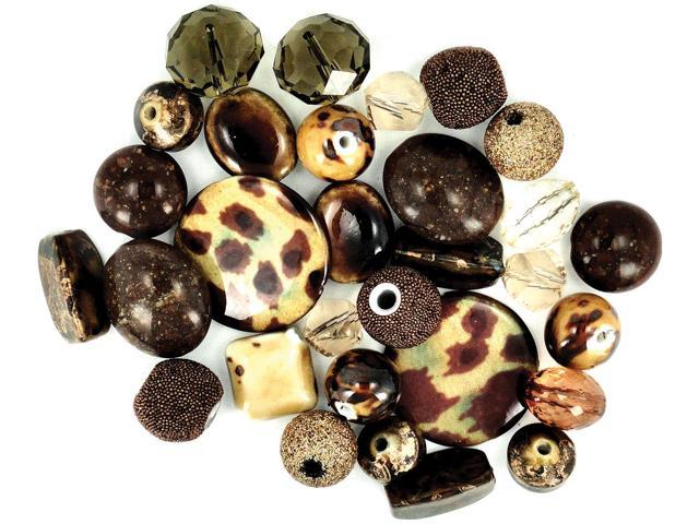 Inspirations Beads 50g-Brown Sugar