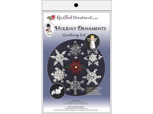 Quilling Kit-Holiday Ornaments