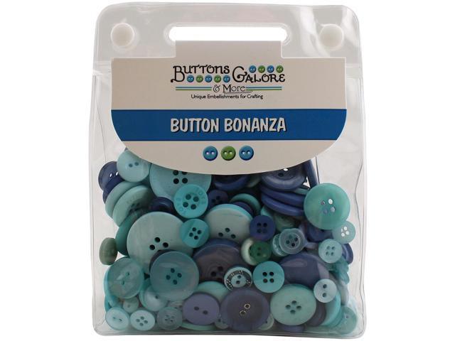 Buttons Galore Button Bonanza-Ocean Blue