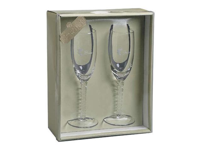 Victoria Lynn Bride & Groom Toasting Glasses 8