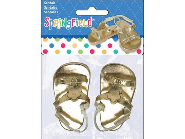 Springfield Collection Sandals-Gold