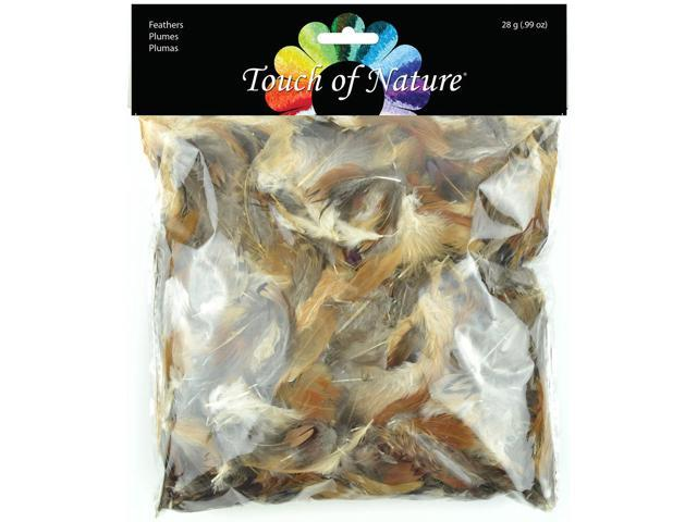 Packaged Feathers-Natural 28g