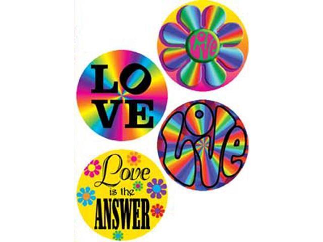 Button Set 4/Pkg-Love