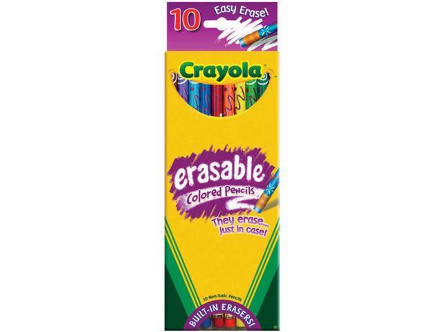 Crayola Erasable Colored Pencils - Set of 10